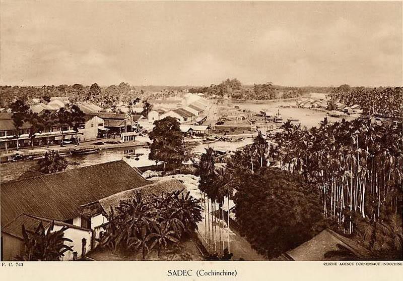 Ville de Sa Dec en 1900