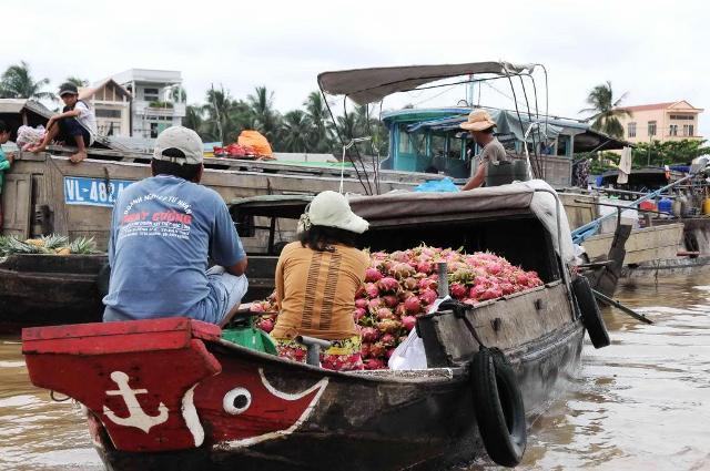 Marche flottant de Cai Rang, Can Tho