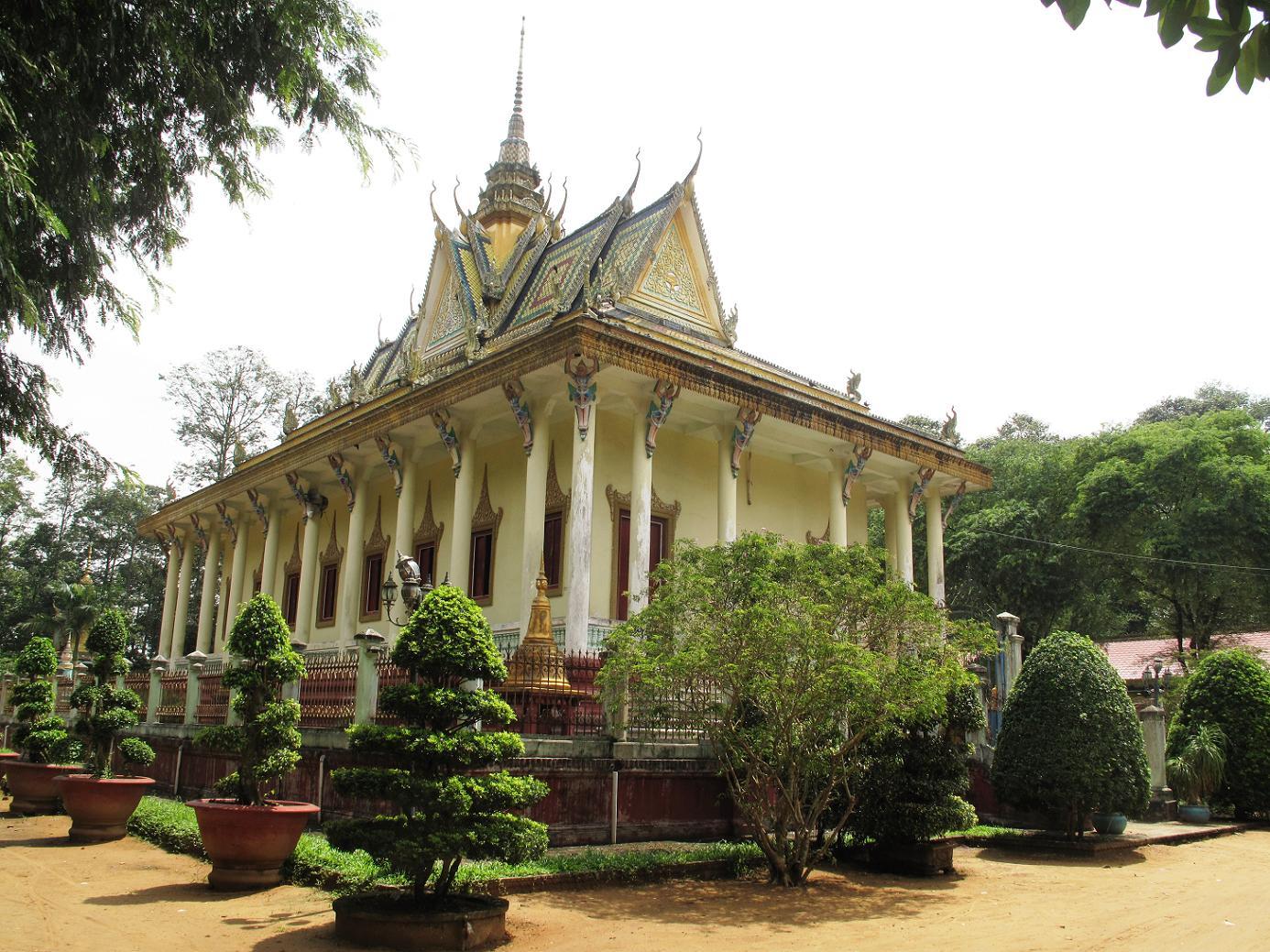 Pagode Hang à Tra Vinh