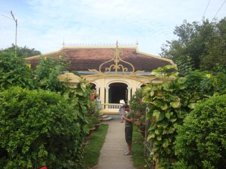 Chez Ba Duc à Cai Bè