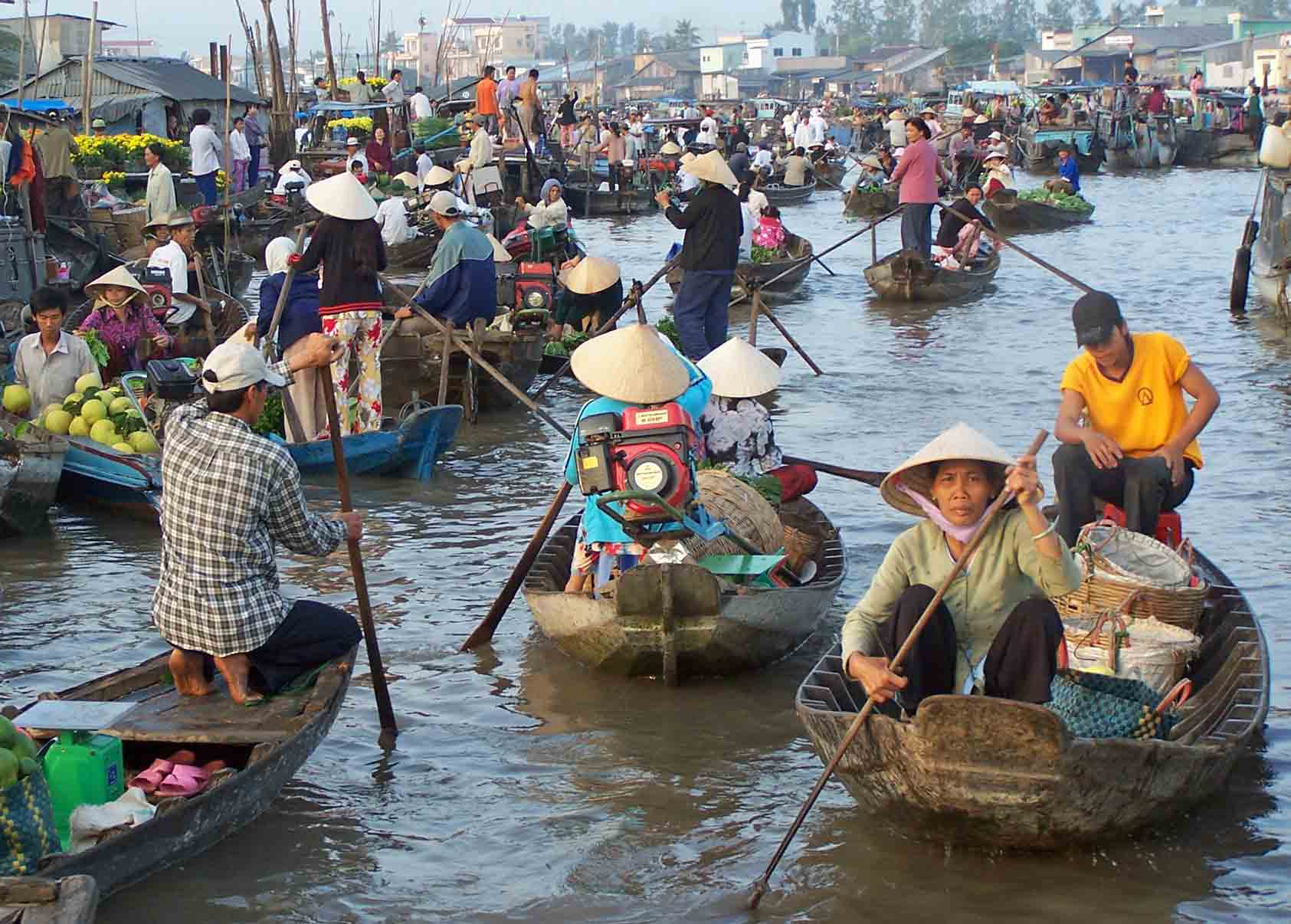 Croisi re sur le m kong for Jardin du mekong homestay
