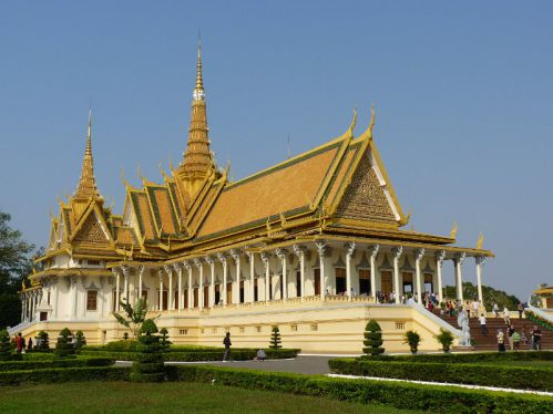pagode d'argent - Voyage Cambodge