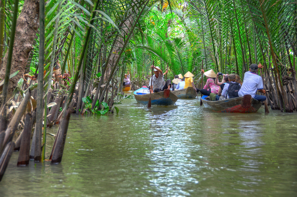 Ben Tre Vietnam  city photos : Ben Tre s'efforce d'accueillir 1 million de touristes